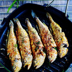香煎小黄花鱼