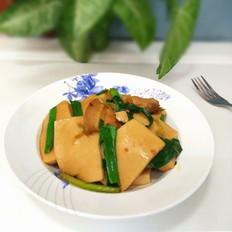 五花肉千页豆腐