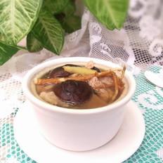 干香菇猪舌头汤