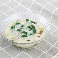菠菜猪肝粥 12M+