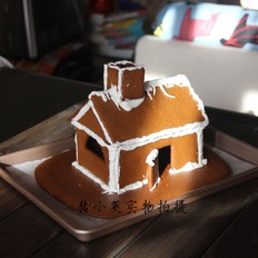 手残族也能做的圣诞姜饼屋