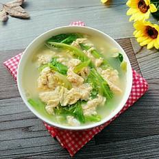 生菜鸡蛋汤