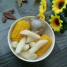 铁棍山药玉米筒骨汤