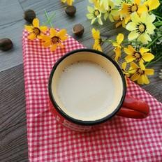 板栗花生豆浆