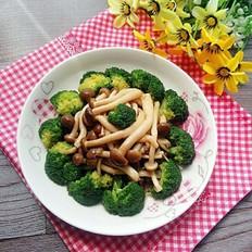 蟹味菇扒西兰花