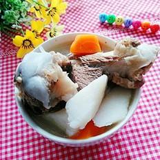 淮山胡萝卜筒骨汤