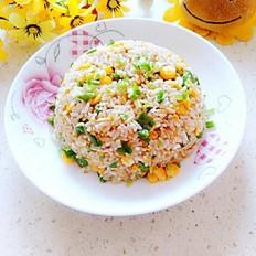 青椒玉米蛋炒饭