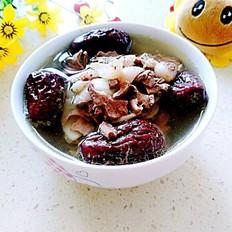 红枣百合猪心汤