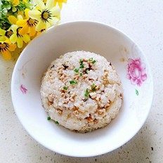 香菇肉末糯米饭