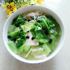 鲫鱼豆腐汤面