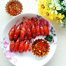 白灼小龙虾