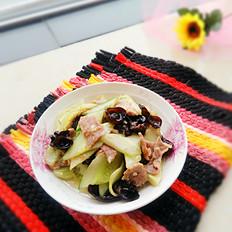 黄瓜木耳炒肉