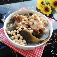 海带黄豆筒骨汤
