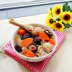 胡萝卜香菇炖鸡汤