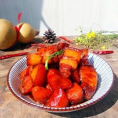 红烧肉炖胡萝卜