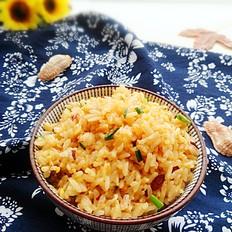 金针菇蛋炒饭