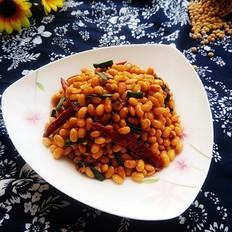 香辣黄豆的做法大全