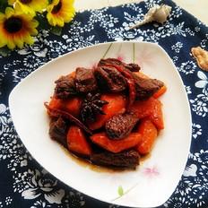 胡萝卜炖驴肉