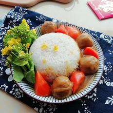 丸子咖喱饭