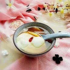红糖鸡蛋姜汤