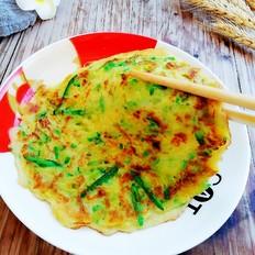 南瓜丝蛋饼