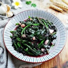 蒜蓉紫贝菜