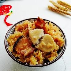 芋头腊肉焖饭