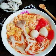 茄汁热汤面