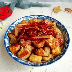 腊鱼蒸油豆腐