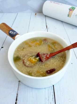 藜麦南瓜小米粥的做法