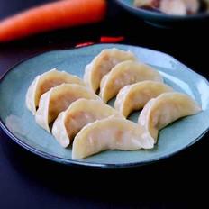 胡萝卜猪肉蒸饺