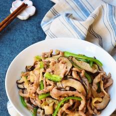 下饭菜香菇榨菜肉丝
