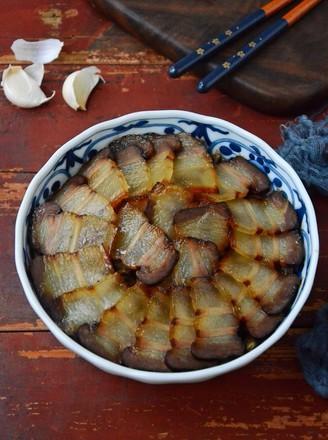 豇豆蒸腊肉的做法