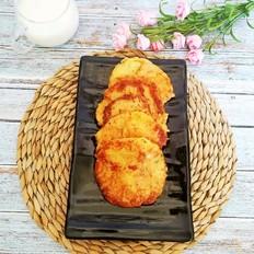 香煎土豆饼-跟路边摊早点说拜拜
