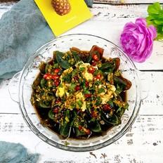 皮蛋豆腐-简单却不平凡的下酒菜