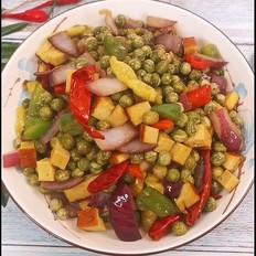 辣炒鲜豌豆