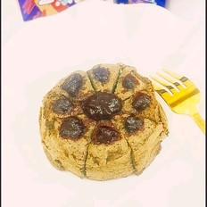 山药蓝莓糕