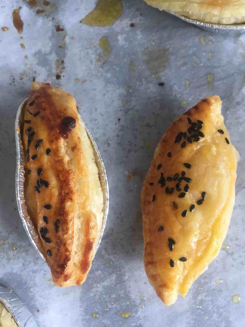 蛋挞的另类吃法—水果挞与香肠挞