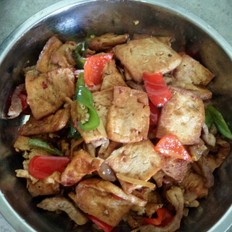 风味豆干炒肉