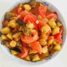 西红柿炒茄子
