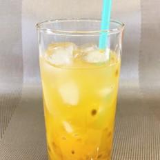 百香果柠檬蜂蜜冰饮
