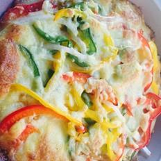奥尔良烤肉披萨
