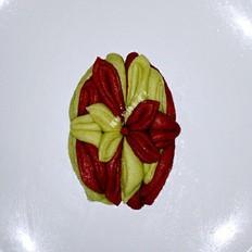 双色莲花卷