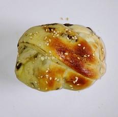 酸奶卤肉面包