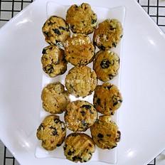 植物油版奶香提子酥饼