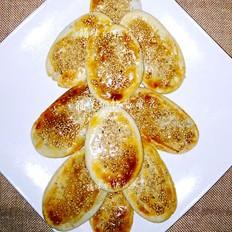 芝麻牛舌饼