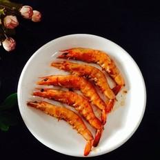 五香味煎虾