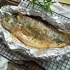 香烤黄花鱼