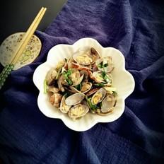 蒜香花蛤的做法大全