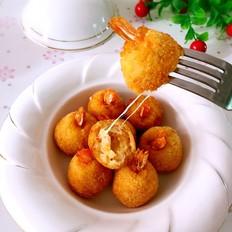 芝士鲜虾球